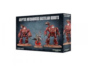 Warhammer 40000: Adeptus Mechanicus: Kastelan Robots