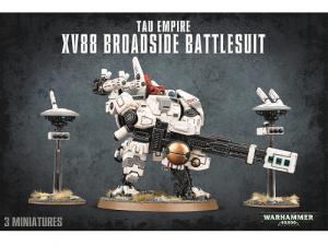 Warhammer 40000: Tau Empire XV88 Broadside Battlesuit