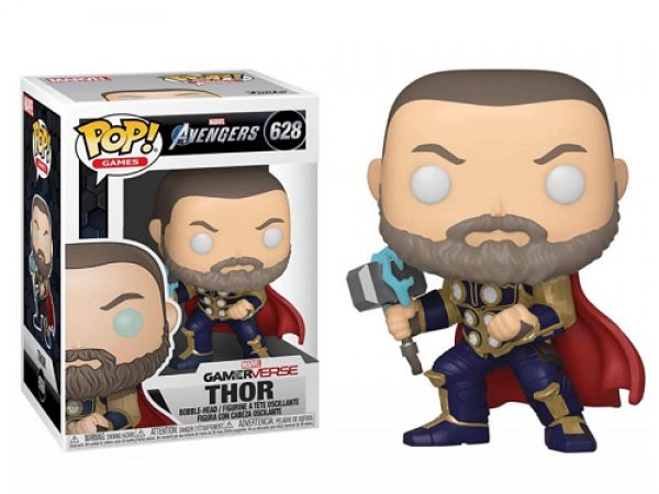 Funko Pop! (628) Marvel – Avengers game – Thor (Stark Tech Suit)