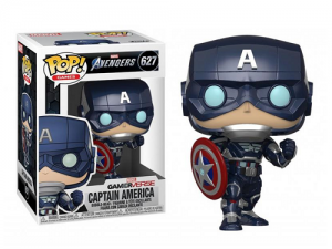 Funko Pop! (627) Marvel – Avengers game – Captain America (Stark Tech Suit)