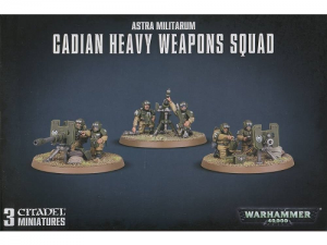 Warhammer 40000: Astra Militarum Cadian Heavy Weapons Squad