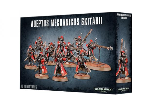 Warhammer 40000: Adeptus Mechanicus: Skitarii