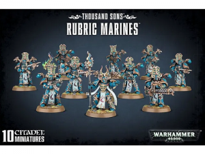Warhammer 40000: Thousand Sons: Rubric Marines