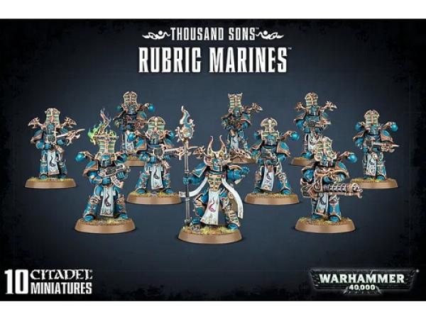 Warhammer 40000: Thousand Sons: Rubric Marines