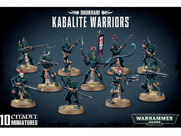 Warhammer 40000: Drukhari - Kabalite Warriors
