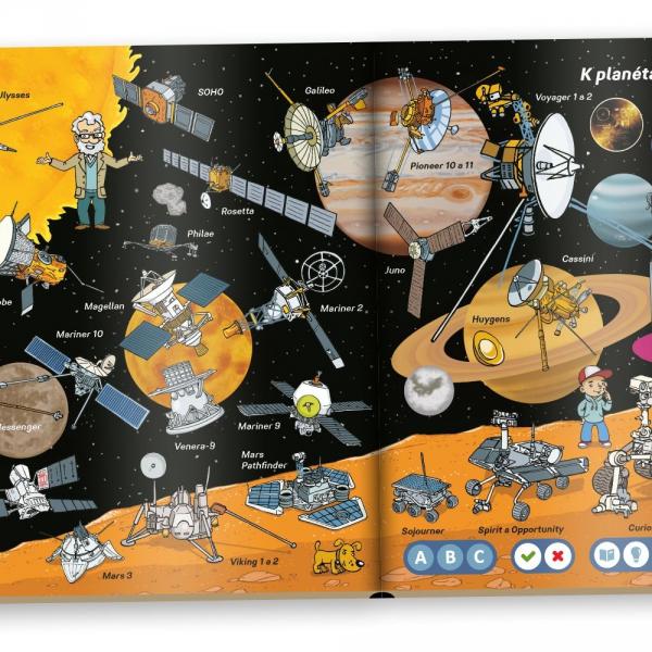 Albi Kúzelné čítanie - Vesmír s elektronickou ceruzkou