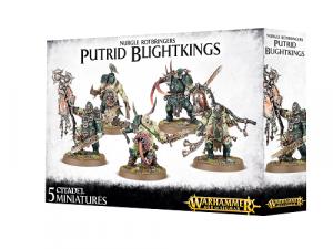 Warhammer Age of Sigmar: Maggotkin of Nurgle - Putrid Blightkings