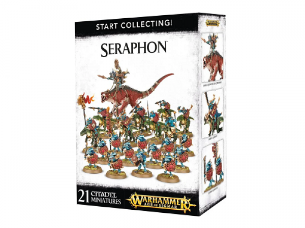 Warhammer Age of Sigmar: Start Collecting! Seraphon