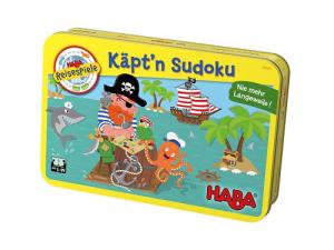 Kapitán Sudoku - v plechovke