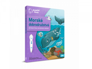 Albi Kúzelné čítanie - kniha Morské dobrodružstvá