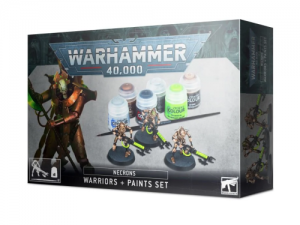 Warhammer 40.000: Necrons Warriors + Paint Set