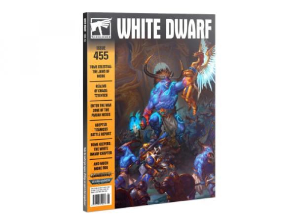 Warhammer White Dwarf 455 (08/2020)