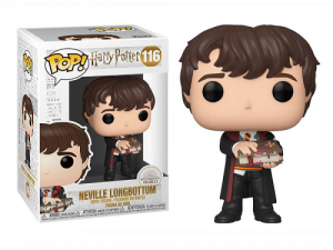 Funko Pop! Movies - Harry Potter - Neville w/Monster Book