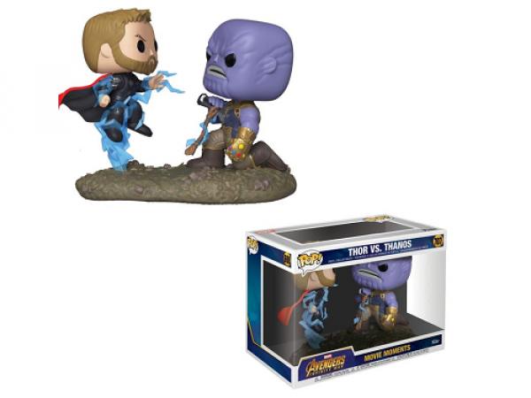 Funko Pop! (707) Movies Moments: Marvel - Thor vs Thanos