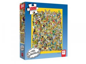 The Simpsons Cast of Thousands 1000 Piece Puzzle