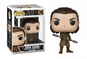 Funko POP (79) TV: Game of Thrones - Arya w/Two Headed Spear