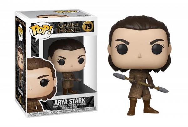 Funko POP (79) TV: Game of Thrones - Arya w/Two Headed Spear