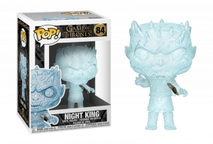 Funko POP (84) TV: Game of Thrones - Crystal Night King w/Dagger