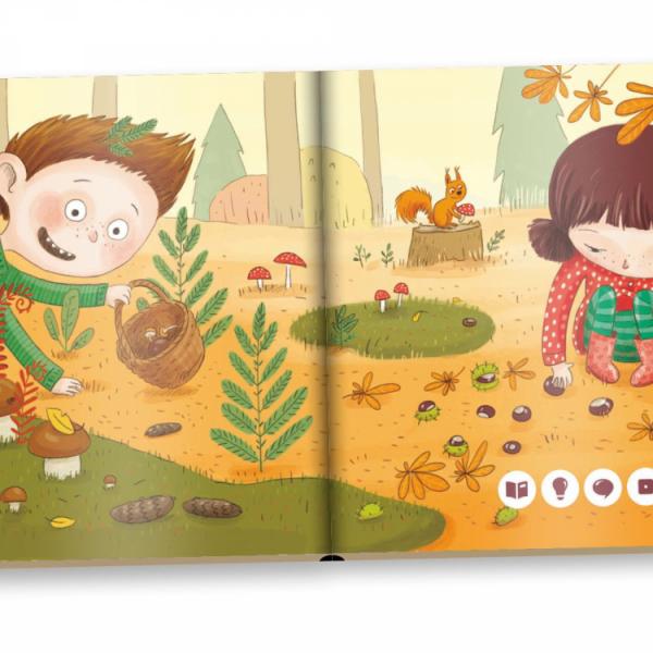Albi Kúzelné čítanie - minikniha pre najmenších - Jeseň