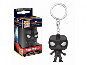 Funko Pop! Keychain: Spider-Man Far From Home - Spider-Man (Stealth Suit)