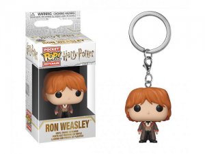 Funko Pop! Keychain: Harry Potter - Ron (Yule)