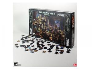 Gulliman vs Black Legion - Warhammer 40K 1000 Piece Puzzle