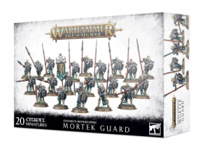 Warhammer Age of Sigmar: Ossiarch Bonereapers Mortek Guard
