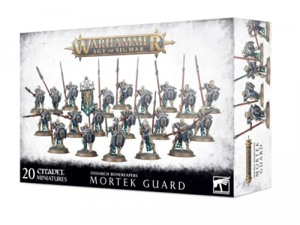 Warhammer Age of Sigmar: Ossiarch Bonereapers Mortek Guard