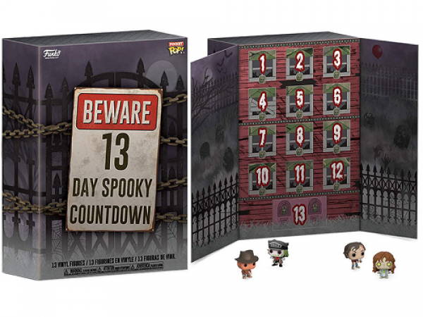 Funko Pocket Pop! Calendar - 13-Day Spooky Countdown