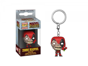 Funko Pop! Keychain: Marvel Zombies - Deadpool