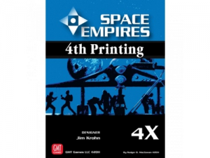 Space empires 4X - 4th printing