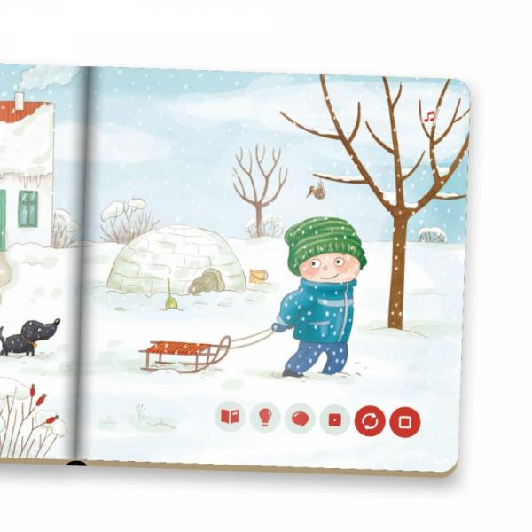 Albi Kúzelné čítanie - minikniha pre najmenších - Zima