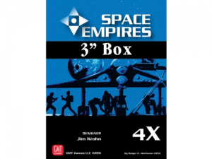 Space empires 4X - 3 Inch Box Empty