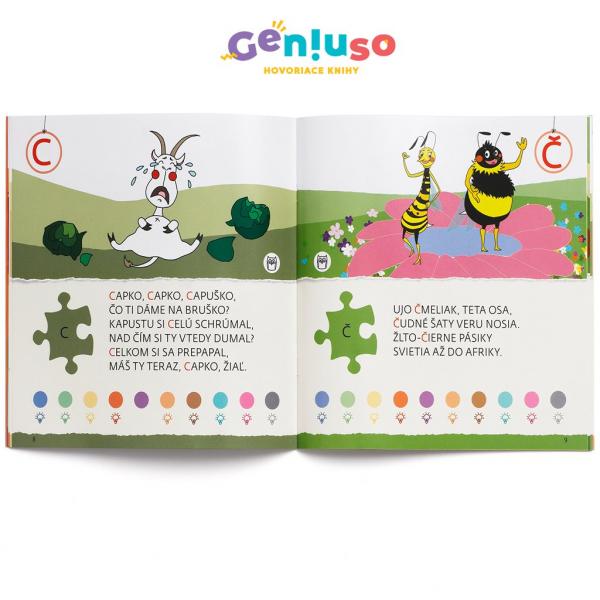 Geniuso - Písmenká pre šikovné hlavičky 1.diel