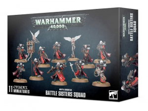 Warhammer 40.000: Adepta Sororitas Battle Sisters Squad
