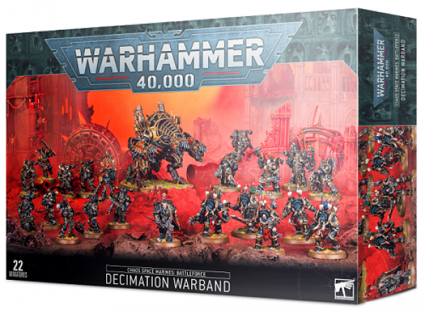 Warhammer 40000: Chaos Space Marines - Decimation Warband