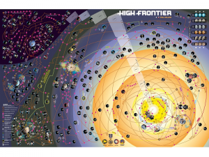 High Frontier CZ Neoprenová mapa