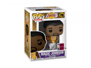 Funko Pop! NBA Legends - Magic Johnson (Lakers home)