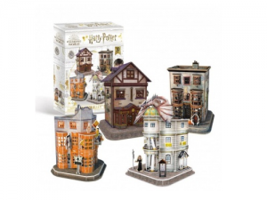 Harry Potter - Diagon Alley Set 3D Puzzle