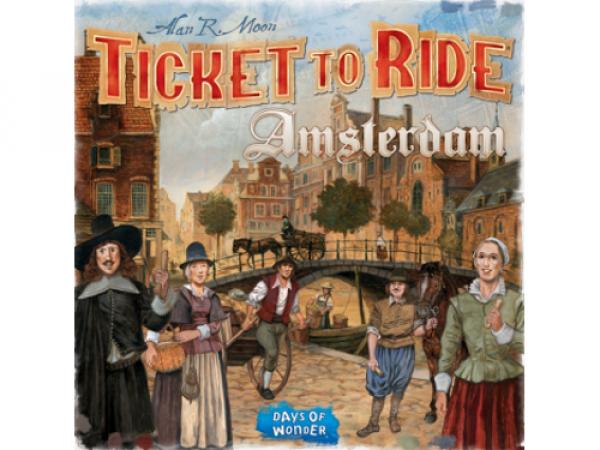 Ticket to Ride: Amsterdam - EN