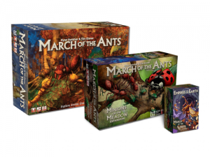 March of the ants - base game + 2 expansions