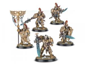 Warhammer 40000: Adeptus Custodes: Custodian Guard Squad