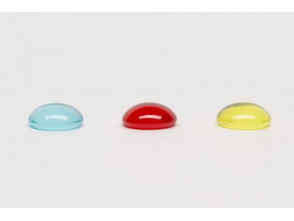 Sada 25 kusov transparentných kameňov 20mm