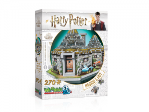 Harry Potter Hagrids Hut - Wrebbit 3D puzzle