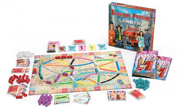 Jízdenky, prosím! Londýn (Ticket to Ride)