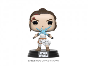 Funko POP! Star Wars: SWEp9 - Rey w/2 Light Sabers