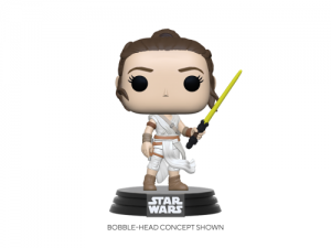 Funko POP! Star Wars: SWEp9 - Rey w/ Yellow Saber