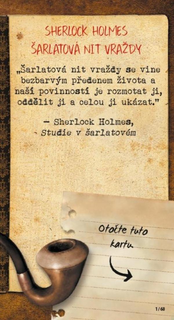 Odemkni! - Sherlock Holmes - Šarlatová nit vražd