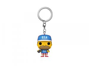 Funko Pop! Keychain: Simpsons - USA Homer