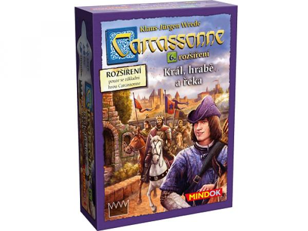 Carcassonne: Král, hrabě a řeka 6. rozšírenie